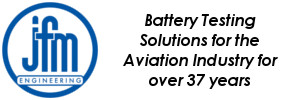 Battery Testing Solutions for the Aviation Industry for over 36 years