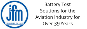 Battery Testing Solutions for the Aviation Industry for over 38 years